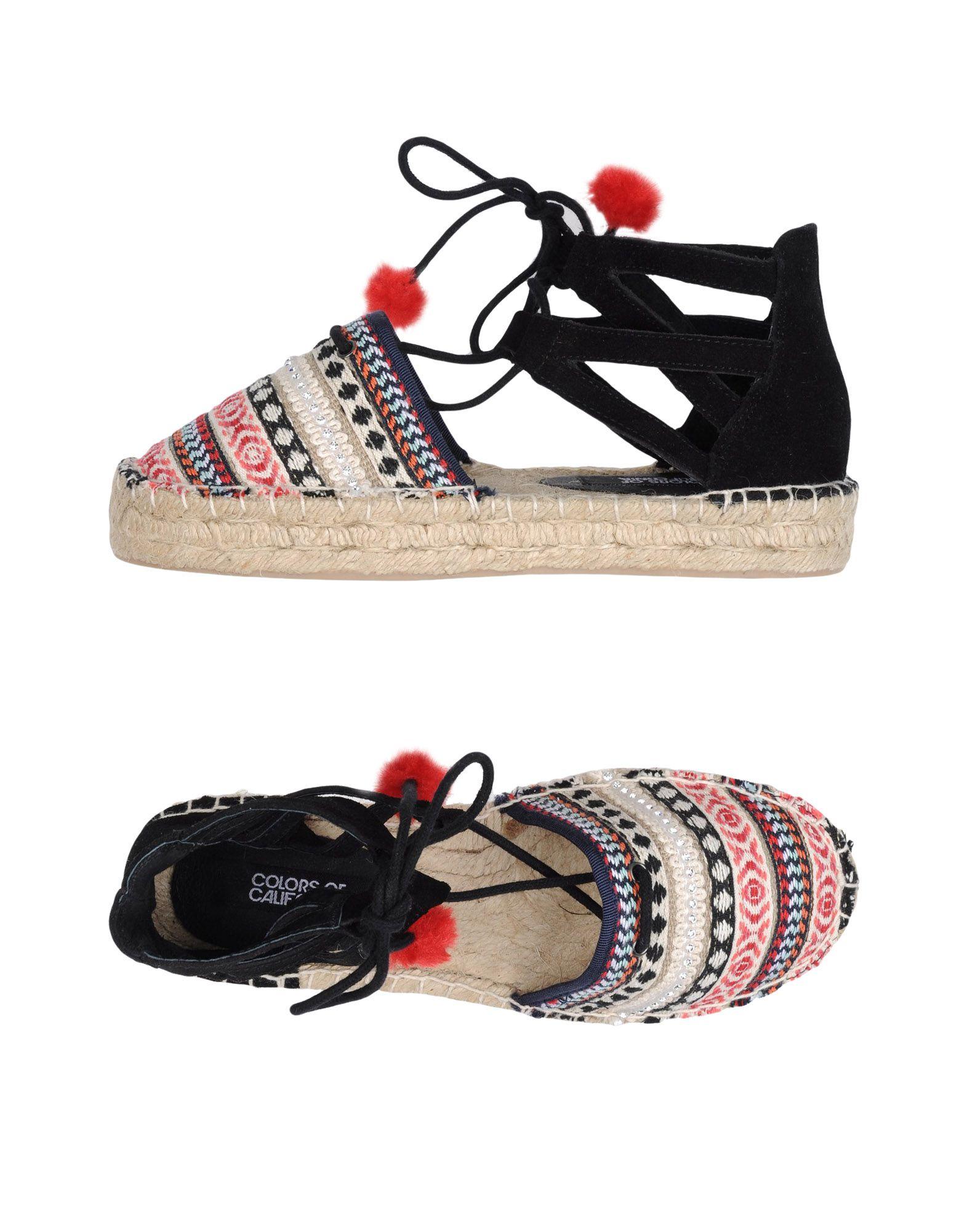Colors Of California California Of Espadrilles Damen  11243745IV Gute Qualität beliebte Schuhe 19f5fb