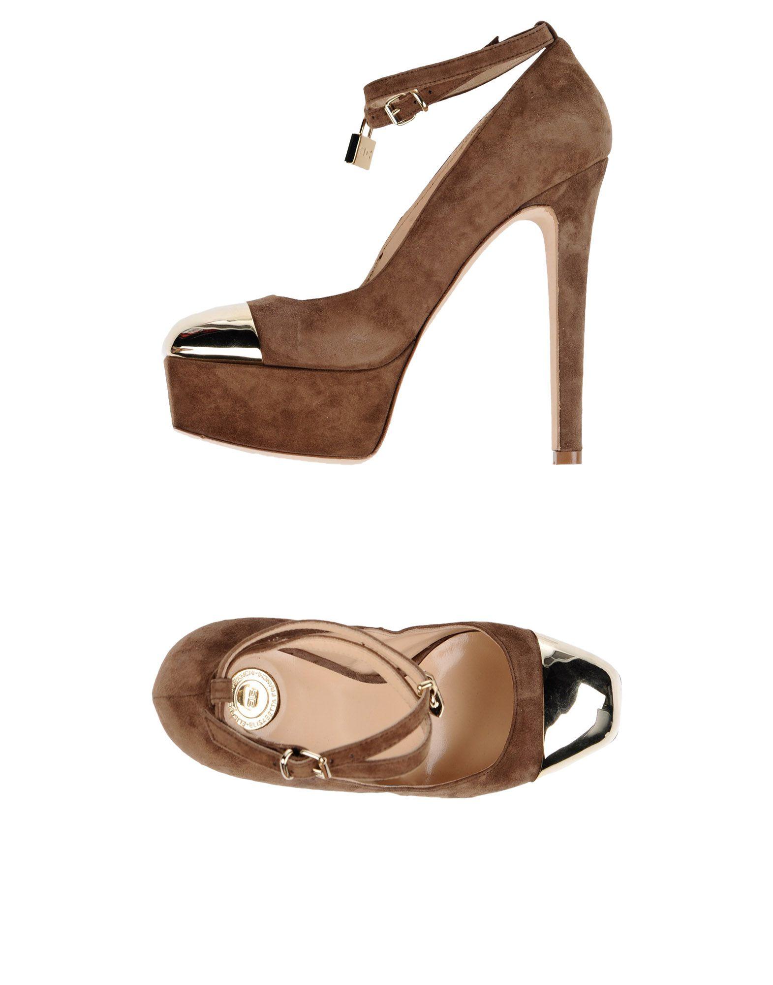 Elisabetta Franchi Pumps Damen strapazierfähige  11244002VOGut aussehende strapazierfähige Damen Schuhe 2ea2ff