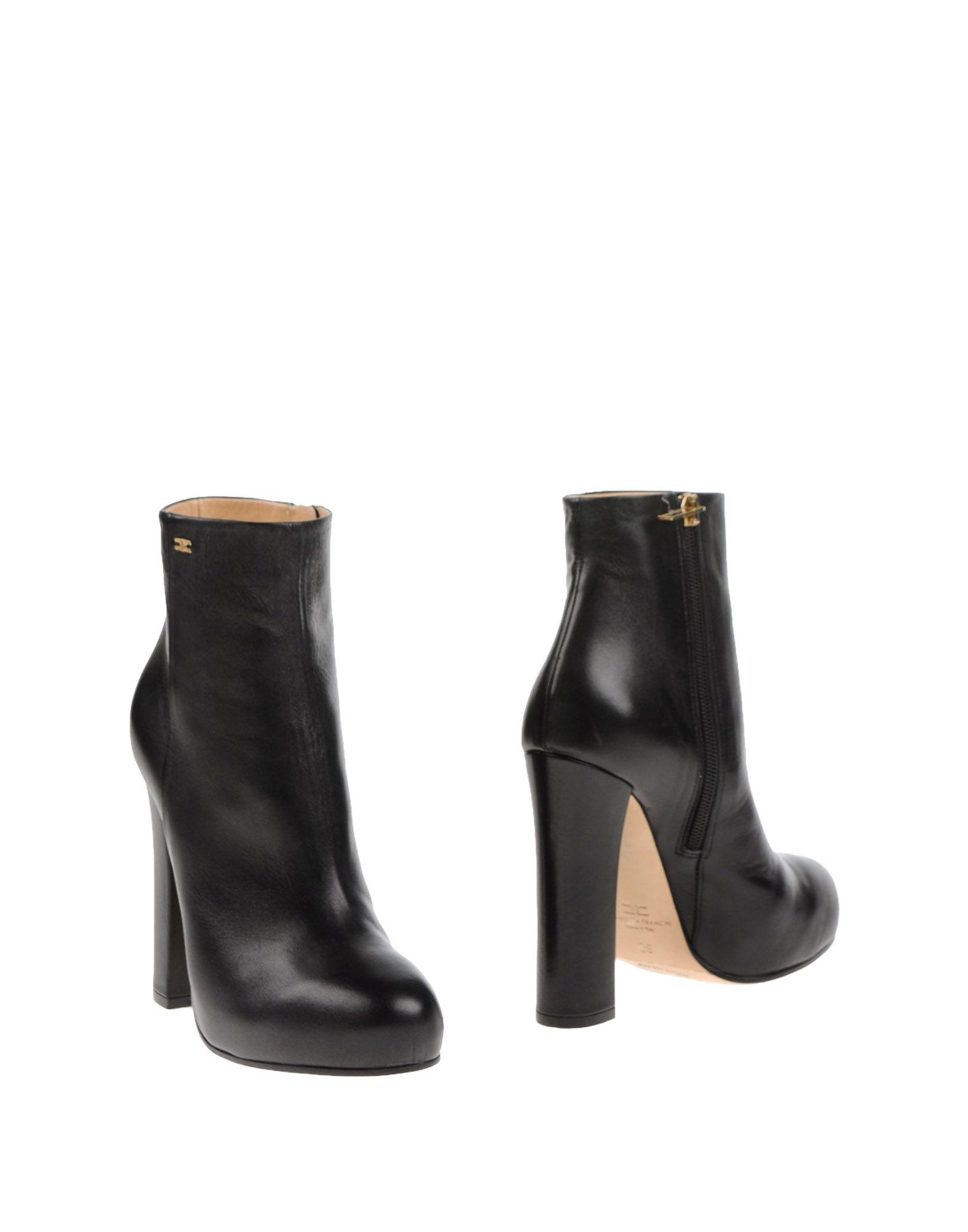 Rabatt Schuhe Stiefelette Elisabetta Franchi Stiefelette Schuhe Damen  11244617VE 0476db