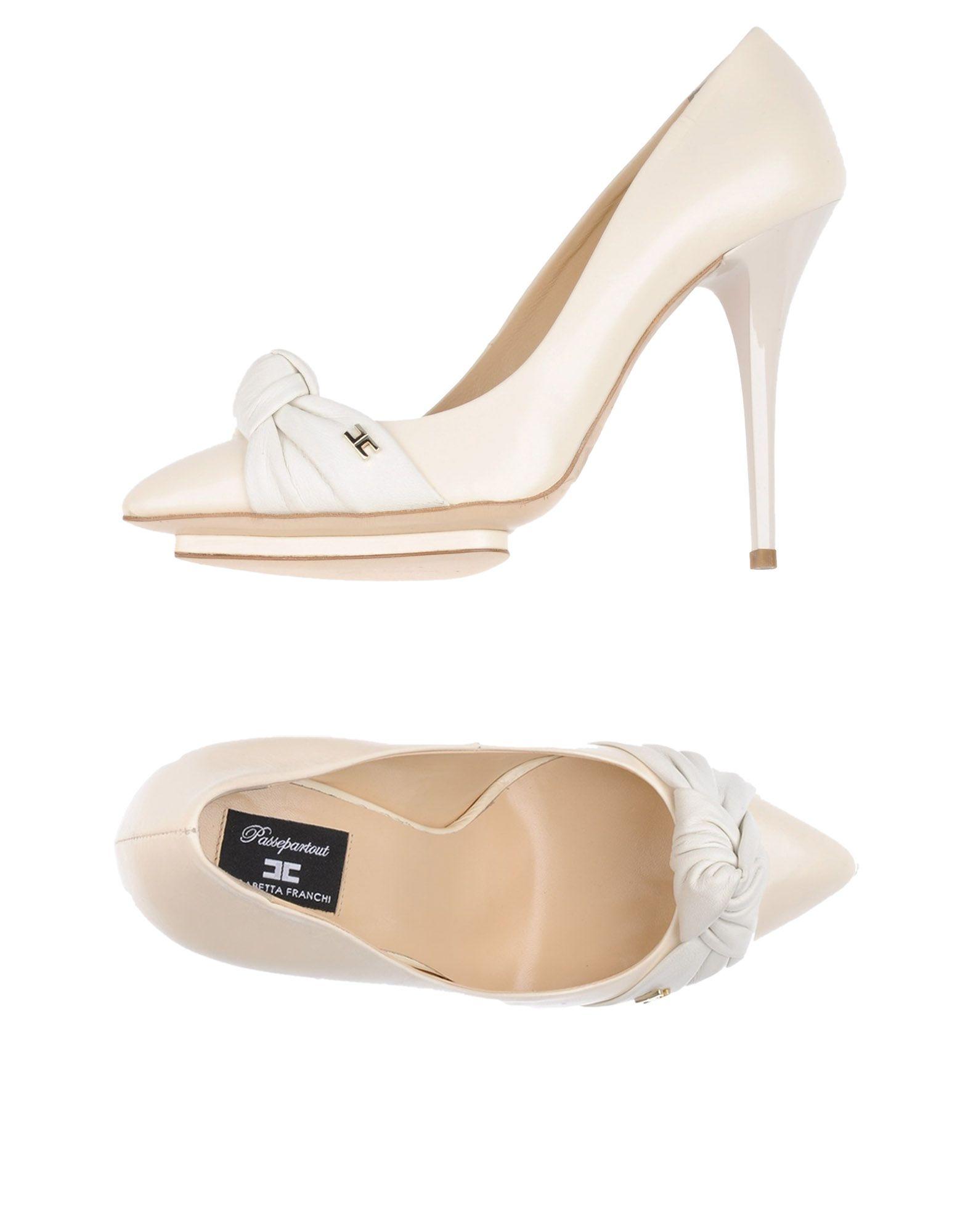 Stilvolle Pumps billige Schuhe Elisabetta Franchi Pumps Stilvolle Damen  11244828BF b66f45