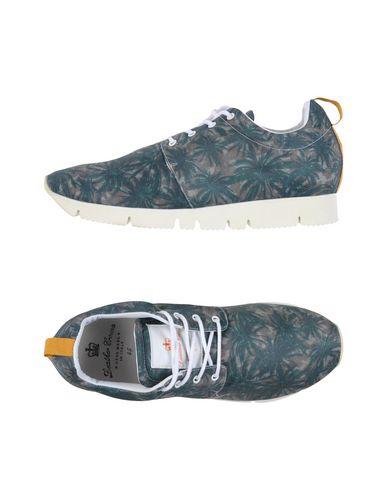 Zapatos con descuento Zapatillas Leather Crown Hombre - Zapatillas Leather militar Crown - 11244983LS Verde militar Leather f6b152