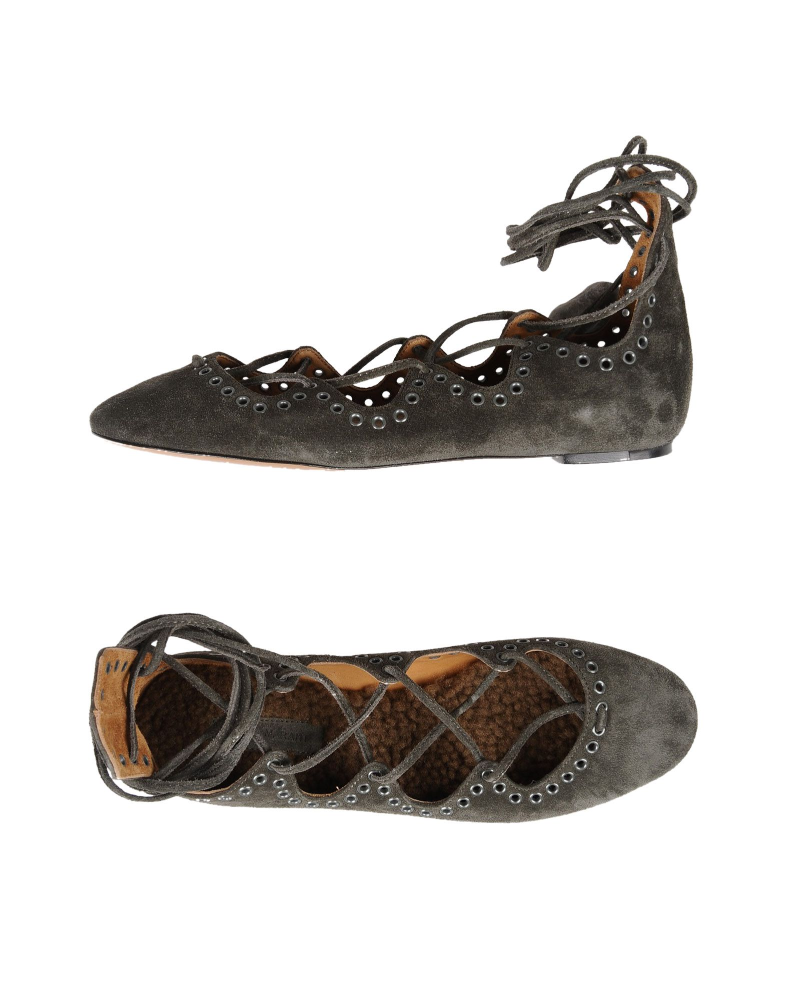 Rabatt Schuhe Isabel Marant Ballerinas Damen  11245271OB