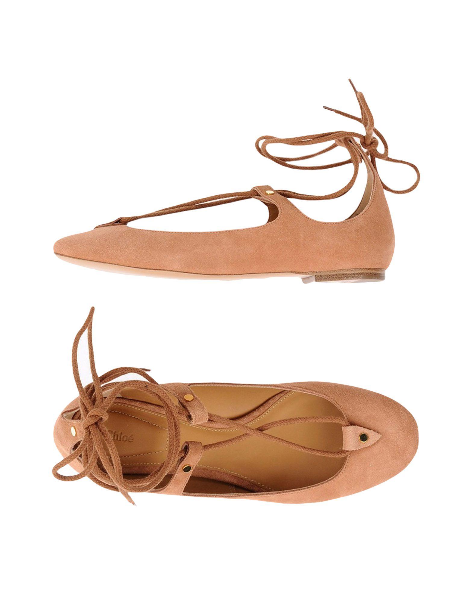 Rabatt Schuhe Chloé Ballerinas Damen  11245389FK