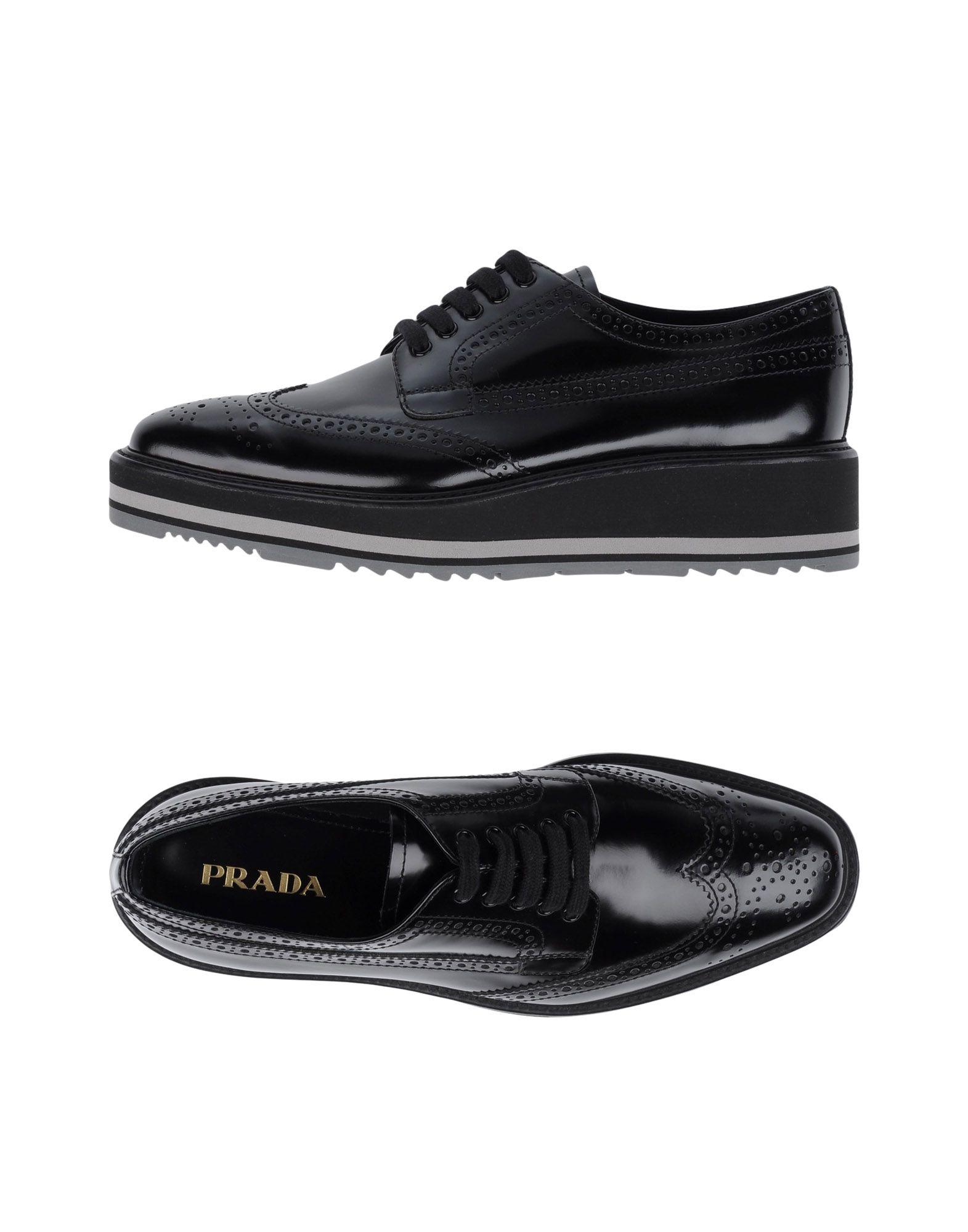 Prada gut Schnürschuhe Damen  11245647IKGünstige gut Prada aussehende Schuhe 582ec1