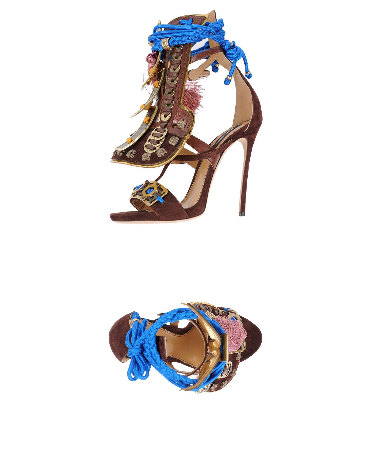 Dsquared2 Sandalen Damen  11245670QOGünstige gut aussehende Schuhe