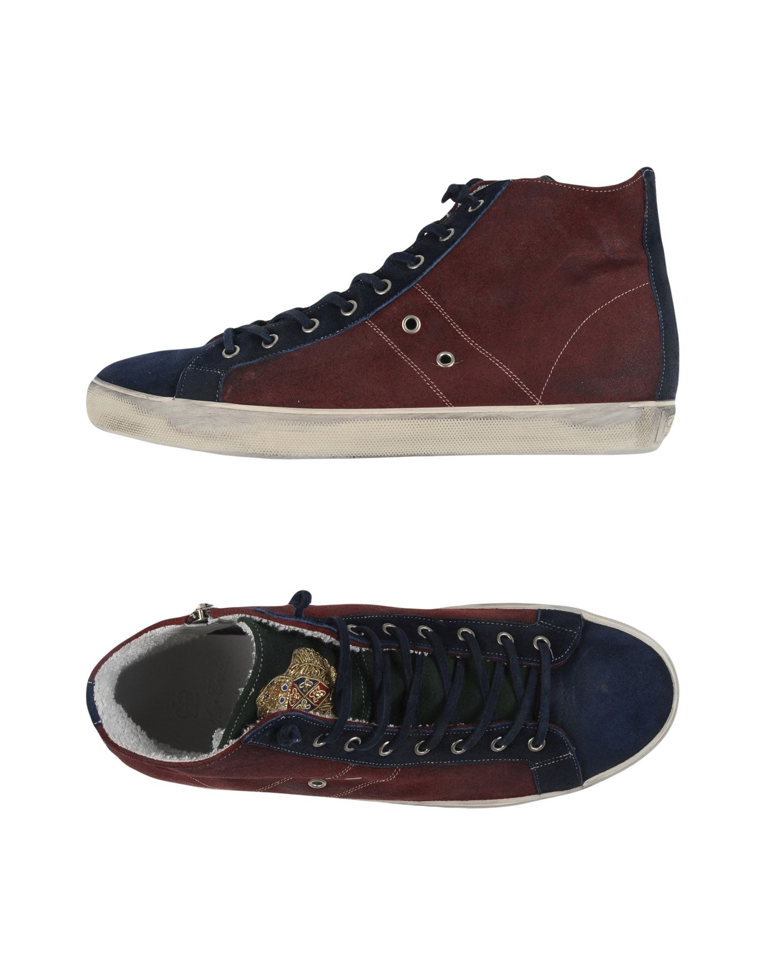 Sneakers Leather Crown Uomo - 11246314LN
