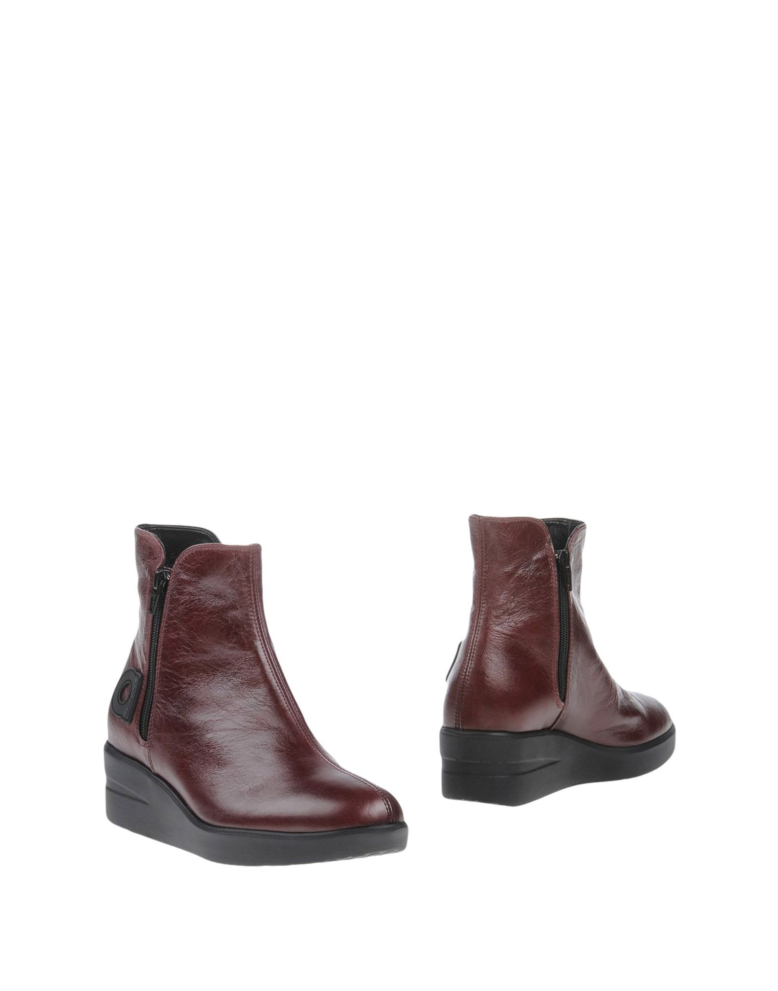 Bottine Agile By Rucoline Femme - Bottines Agile By Rucoline Bordeaux Remise de marque