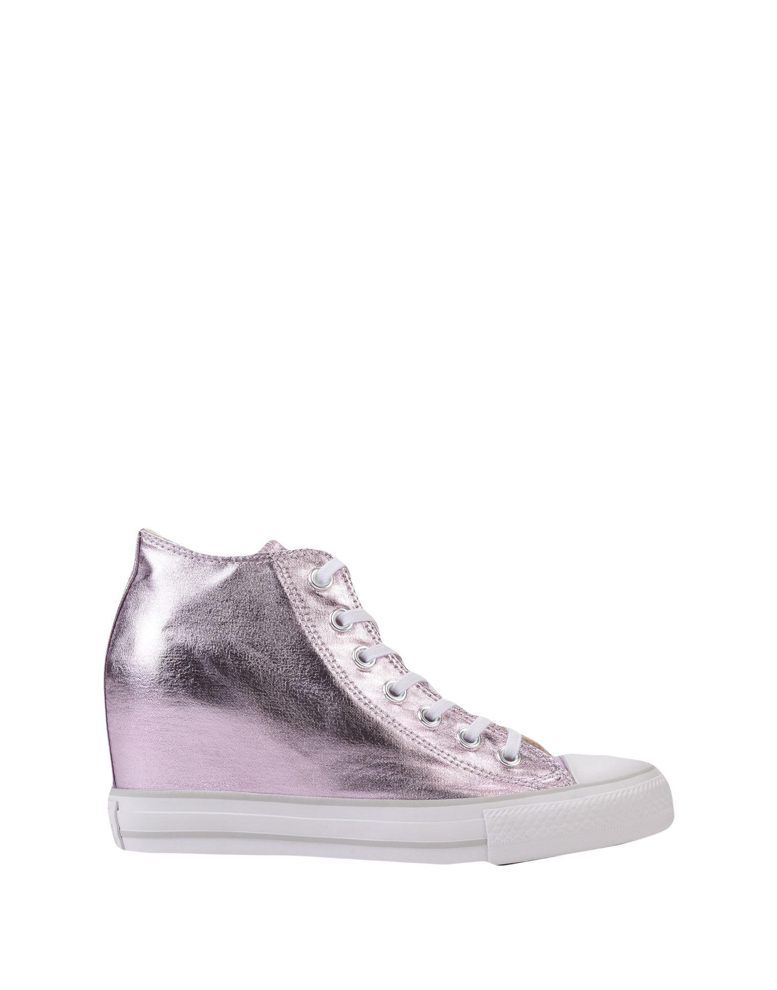 Sneakers Converse All Star Ct As Mid Lux Canvas Metallic - Femme - Sneakers Converse All Star sur