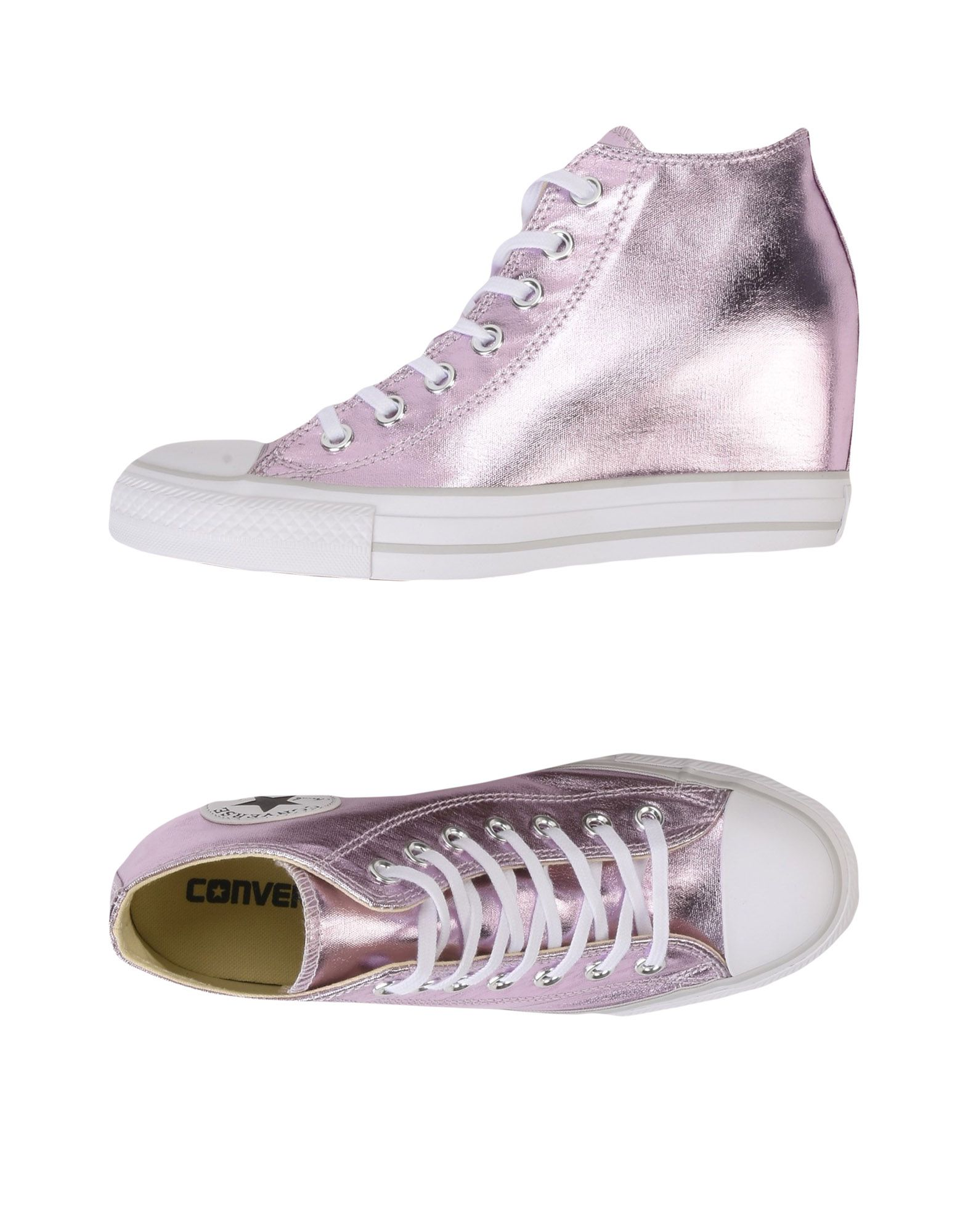 Sneakers Converse All Star Canvas Ct As Mid Lux Canvas Star Metallic - Donna - 11247784MM fa9a27