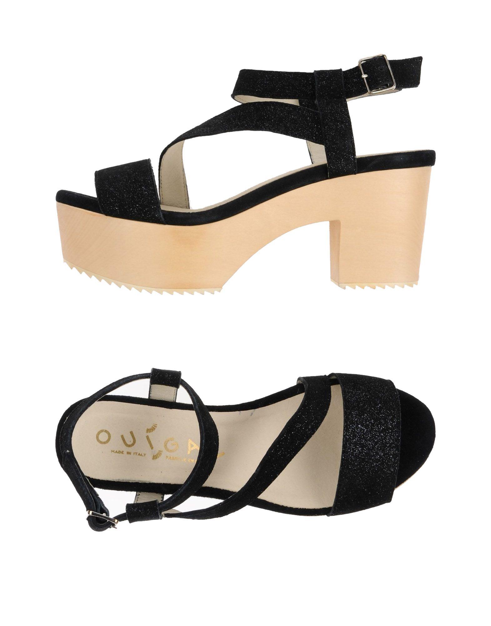 Haltbare Mode billige Schuhe Ouigal Sandalen Damen  11248082RL Heiße Schuhe