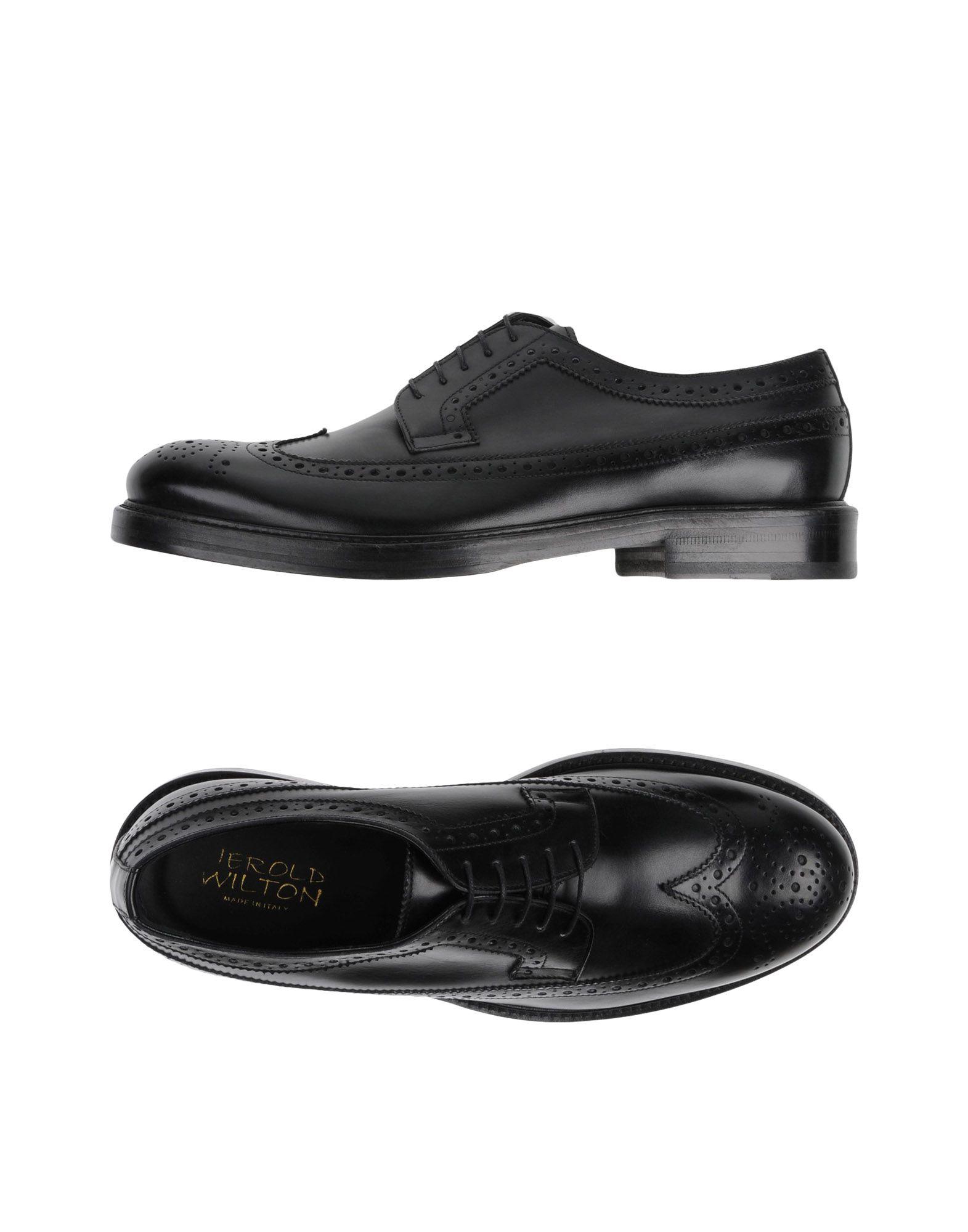 Rabatt Schnürschuhe echte Schuhe Jerold Wilton Schnürschuhe Rabatt Herren  11249127BL 6b81a4