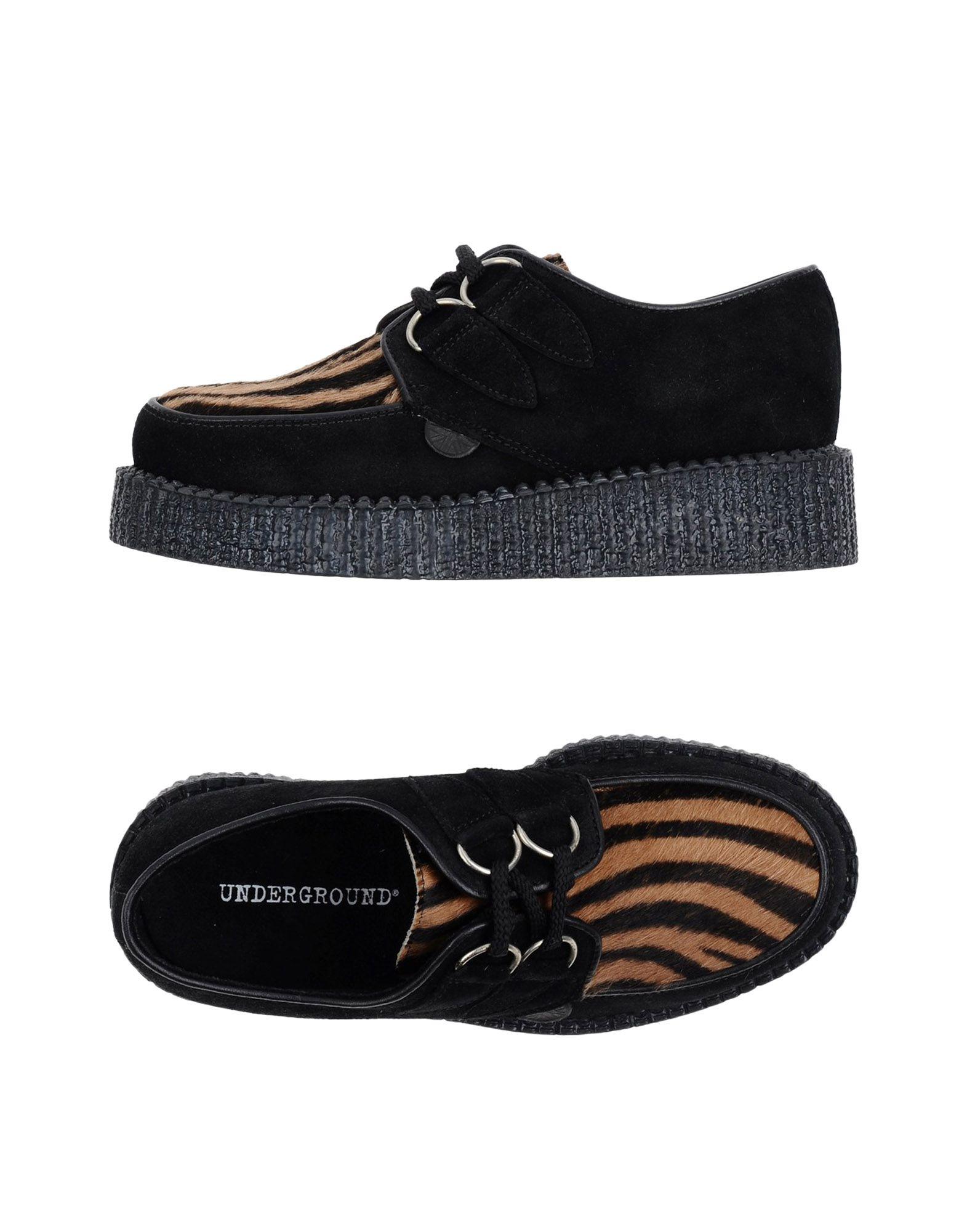 Chaussures À Lacets Underground Femme - Chaussures À Lacets Underground sur