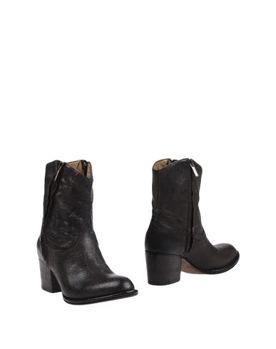 LENA MILOS Ankle boot Dark brown Women