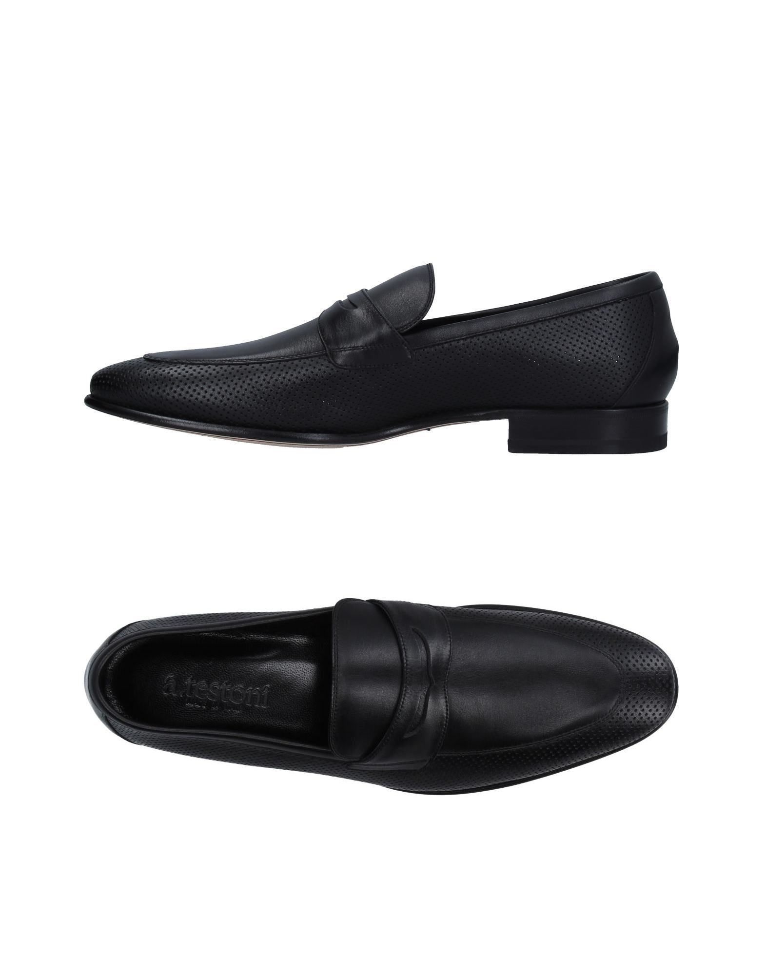 Loafers for Men On Sale, Black, Leather, 2017, 6.5 6.75 7 8 8.5 9 9.5 Seboy