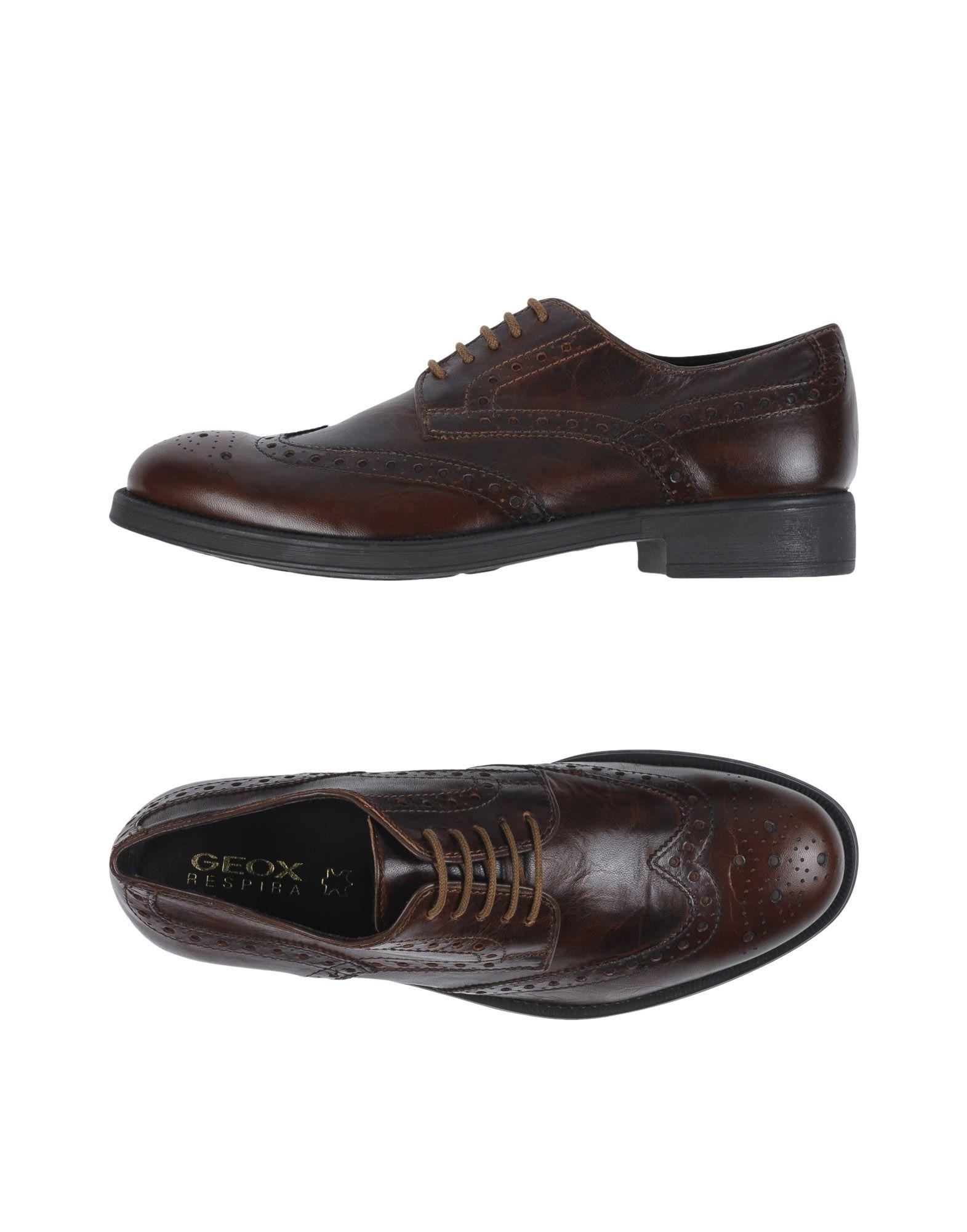 Rabatt Herren echte Schuhe Geox Schnürschuhe Herren Rabatt  11252969XS 36126f