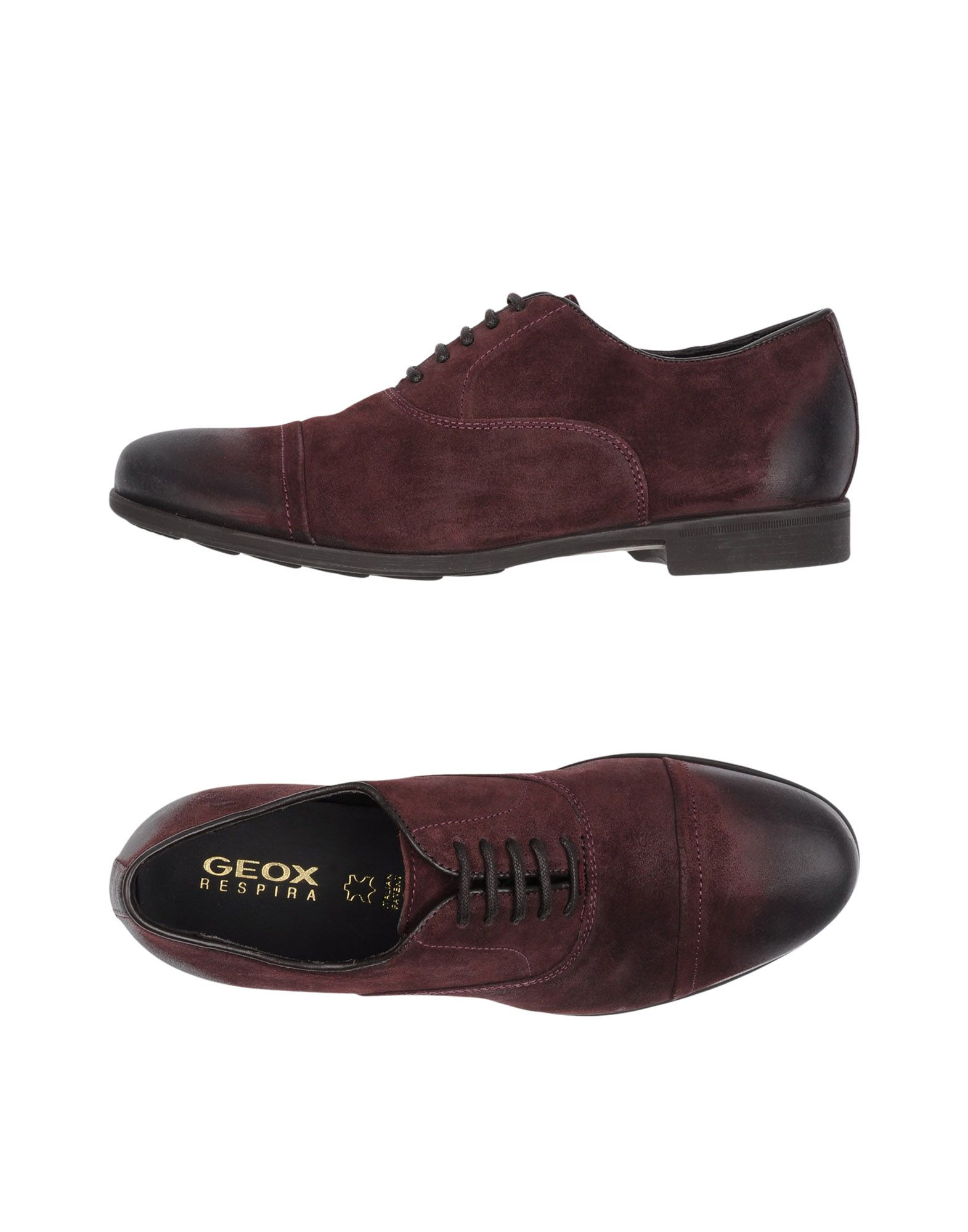Rabatt echte Schuhe Geox Schnürschuhe Herren  11252984WV