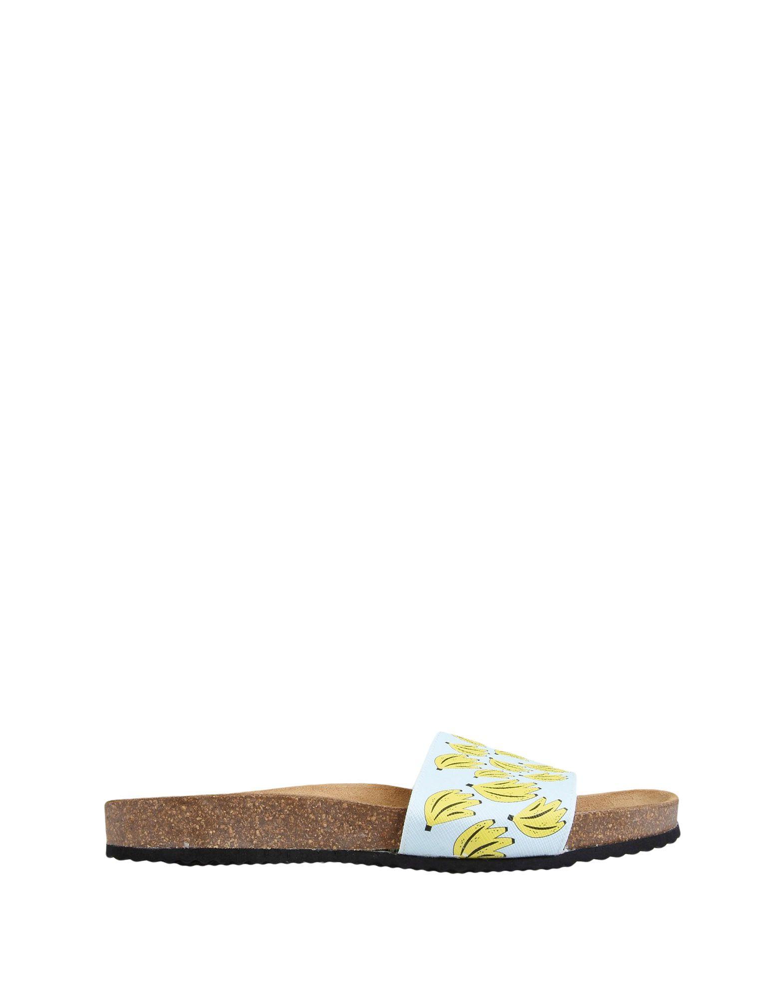 Sandales Leo Studio Design Ss17-601 Slipper Printed Bananas - Femme - Sandales Leo Studio Design sur