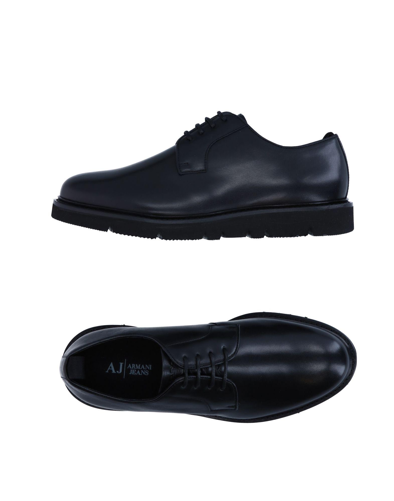 Rabatt echte Schuhe Armani Jeans Schnürschuhe Herren  11253426BD