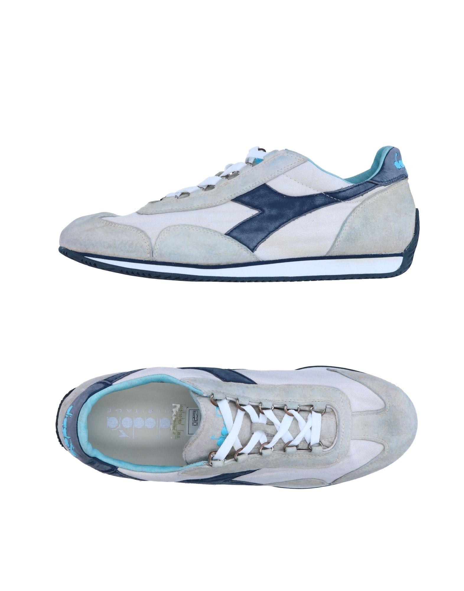 Zapatillas Diadora Heritage Hombre - Zapatillas Zapatillas - Diadora Heritage  Gris perla d4c3c0