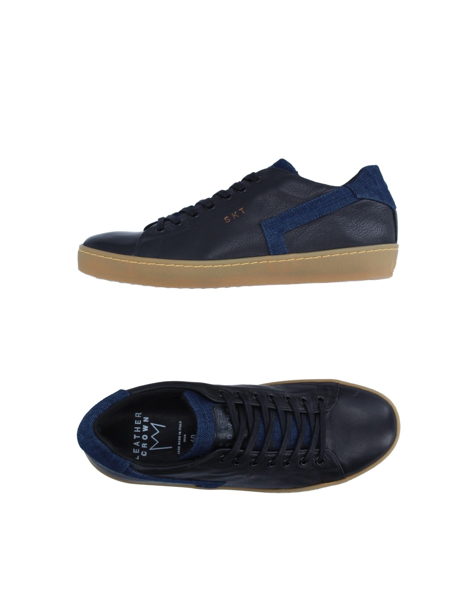 Sneakers Leather Crown 11254116AB Uomo - 11254116AB Crown 5bec97