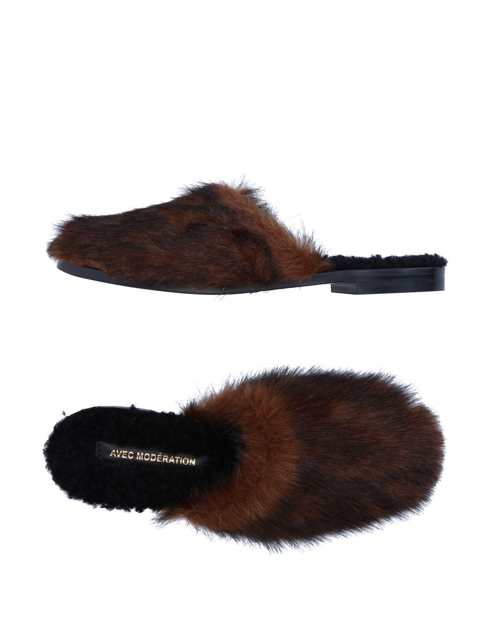 Stilvolle billige Schuhe Avec Modération Hausschuhe Damen  11254195VH