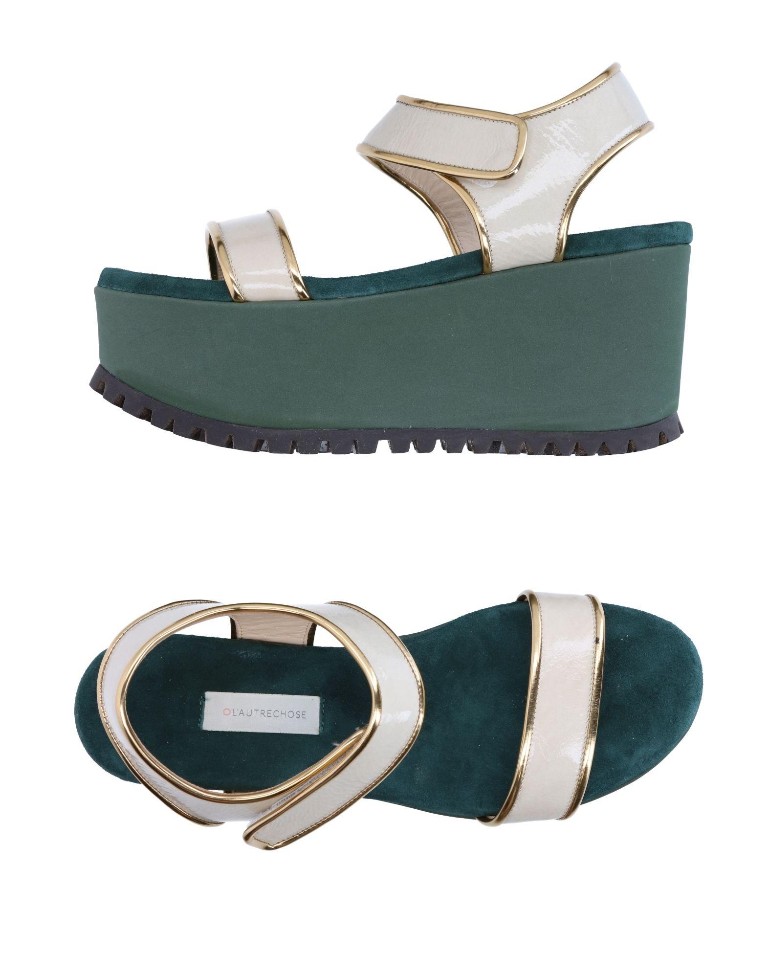 Gut um billige Schuhe Sandalen zu tragenL' Autre Chose Sandalen Schuhe Damen  11254544IR e81495