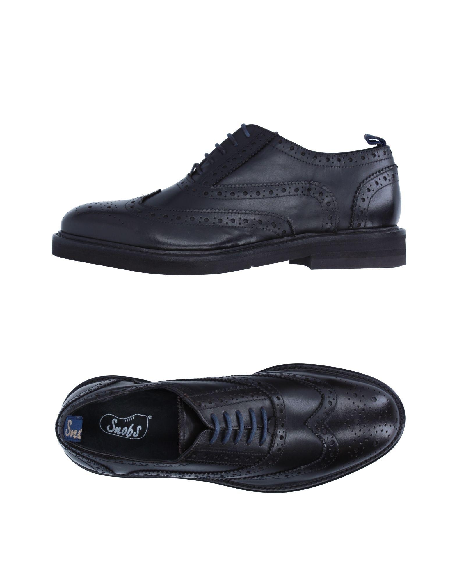 Rabatt echte Schuhe Snobs® Schnürschuhe Herren  11254655IX