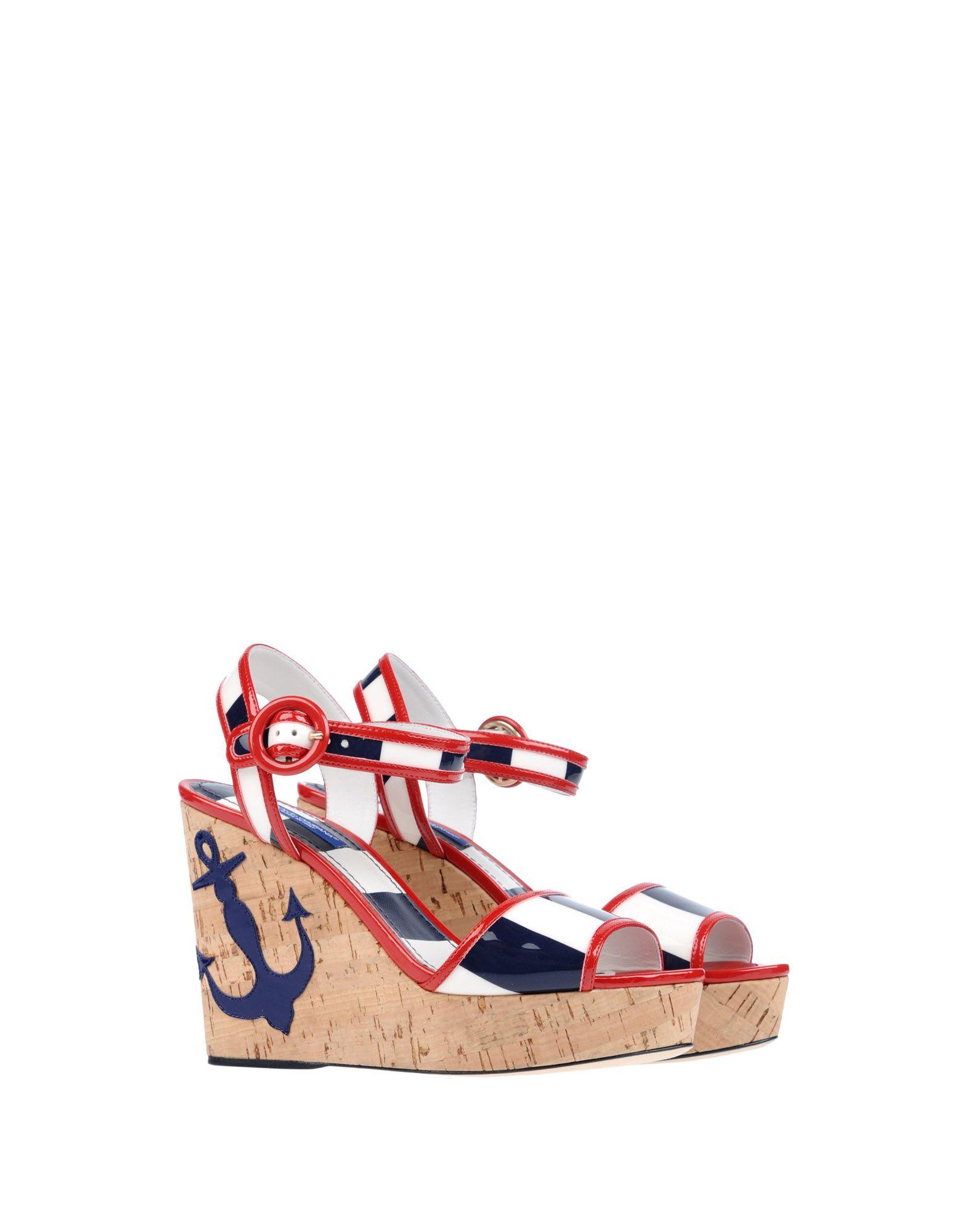 Stilvolle billige Schuhe Dolce & Gabbana Sandalen Damen  11255088CD