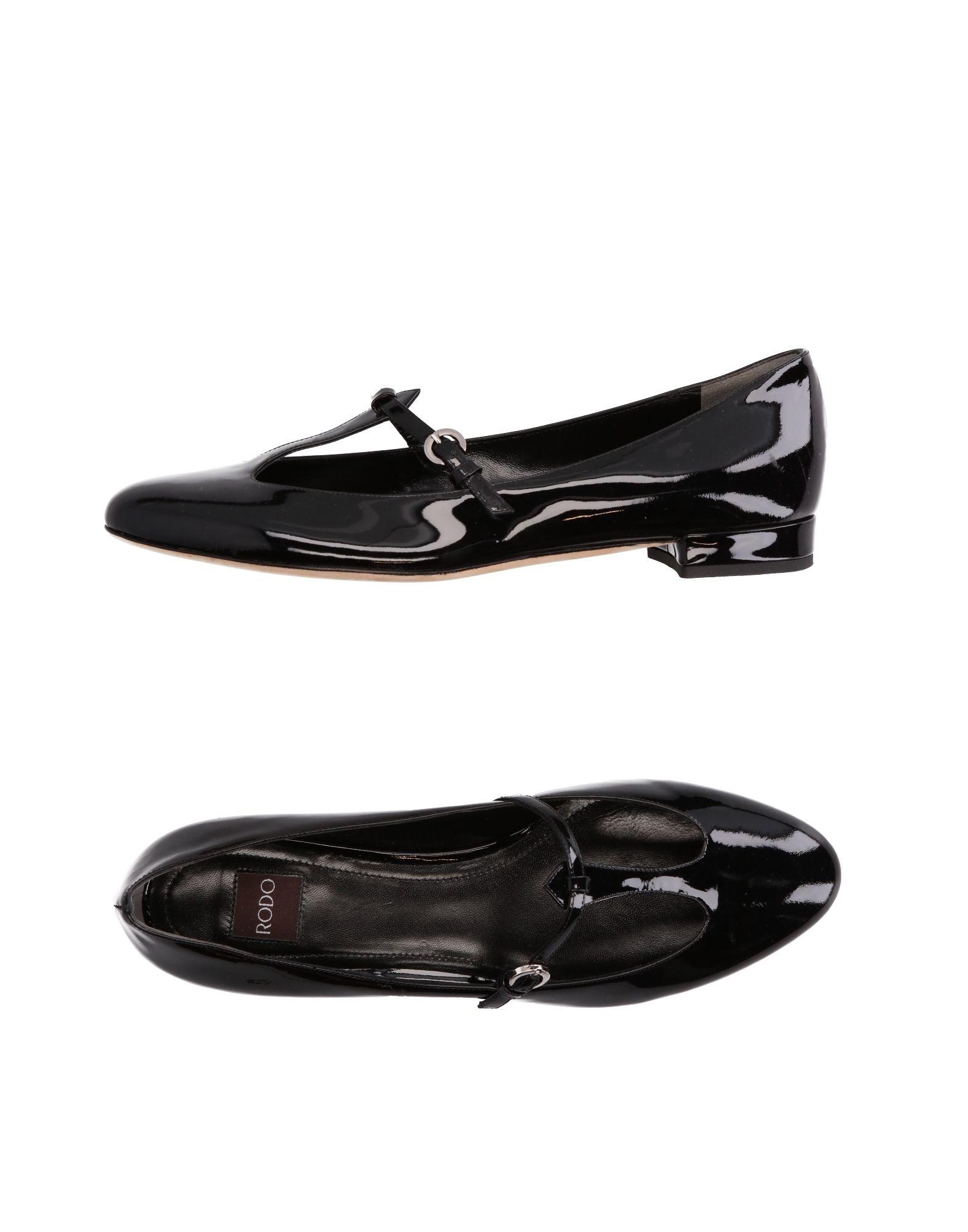 Rodo Ballerinas Damen  11255237OJGut aussehende strapazierfähige Schuhe