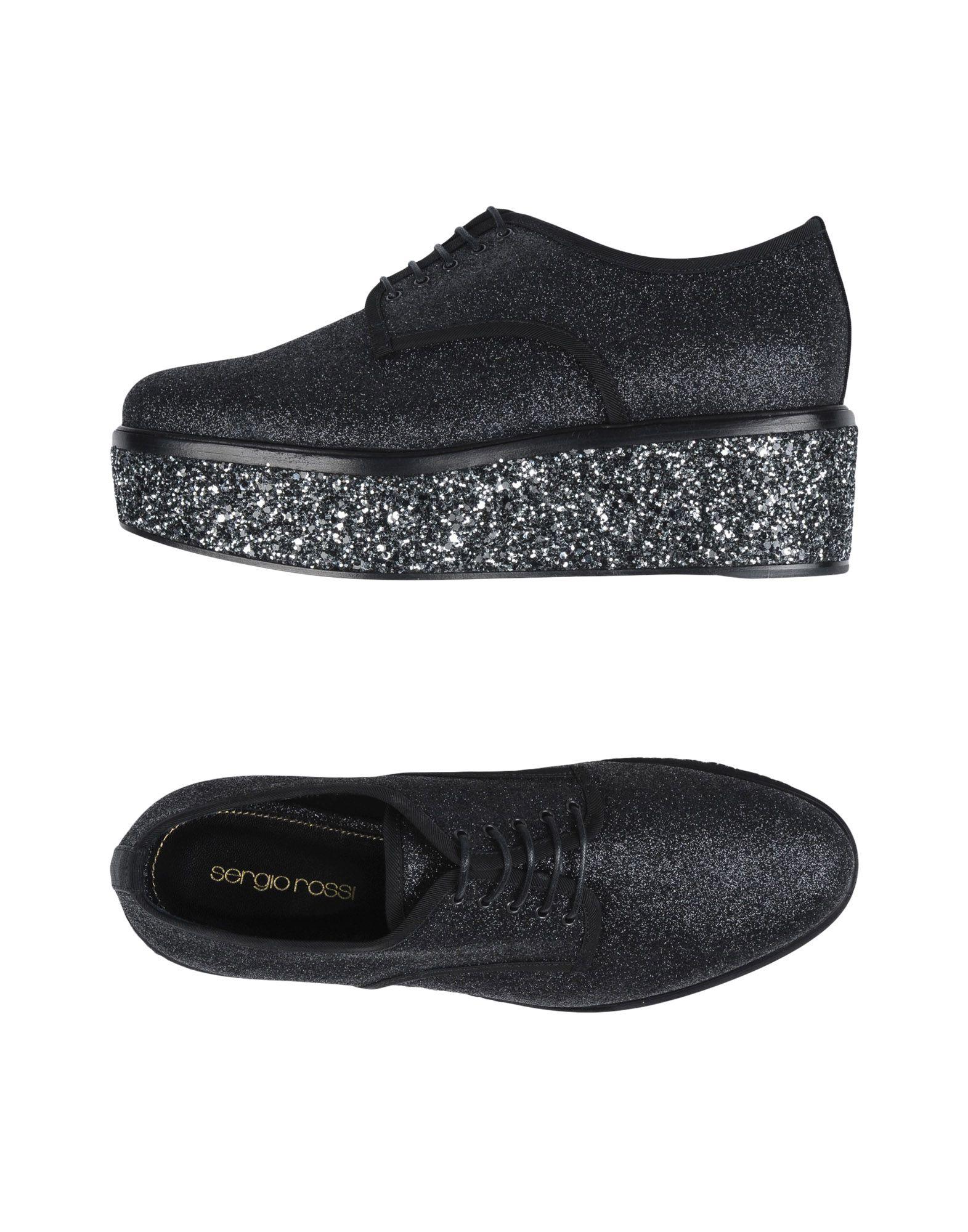 Rabatt Schuhe Schnürschuhe Sergio Rossi Schnürschuhe Schuhe Damen  11255275JI 36f60c