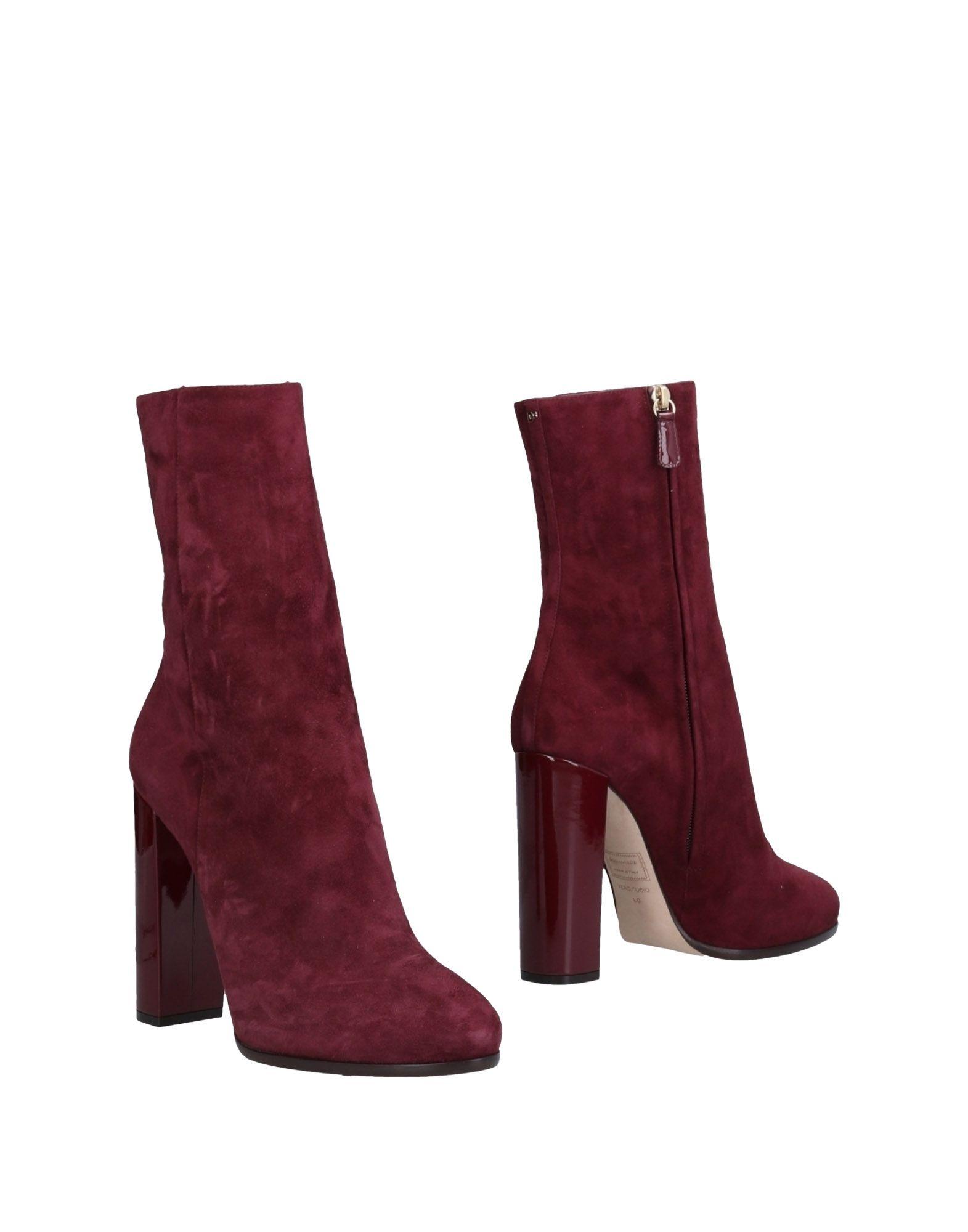 Bottine Dsquared2 Femme - Bottines discount Dsquared2 Bordeaux Dernières chaussures discount Bottines pour hommes et femmes 782bb3
