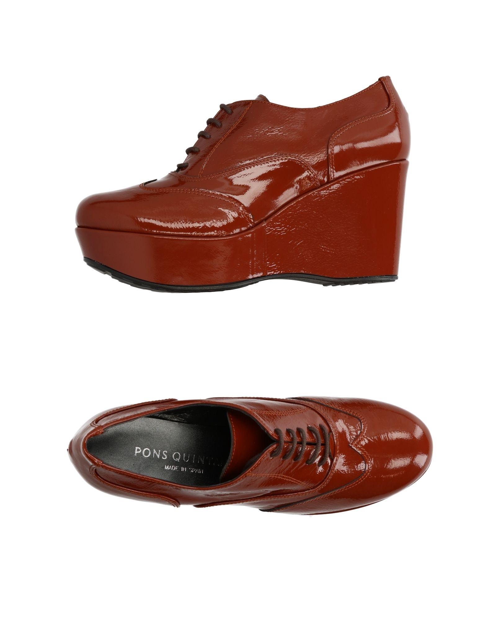 Stilvolle billige Schuhe Pons Quintana Schnürschuhe Damen  11256473QV