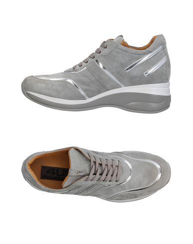 Zapatos de hombre y mujer de promoción por tiempo limitado Zapatillas Cesare Paciotti 4Us Mujer - Zapatillas Cesare Paciotti 4Us - 11256700SJ Gris perla