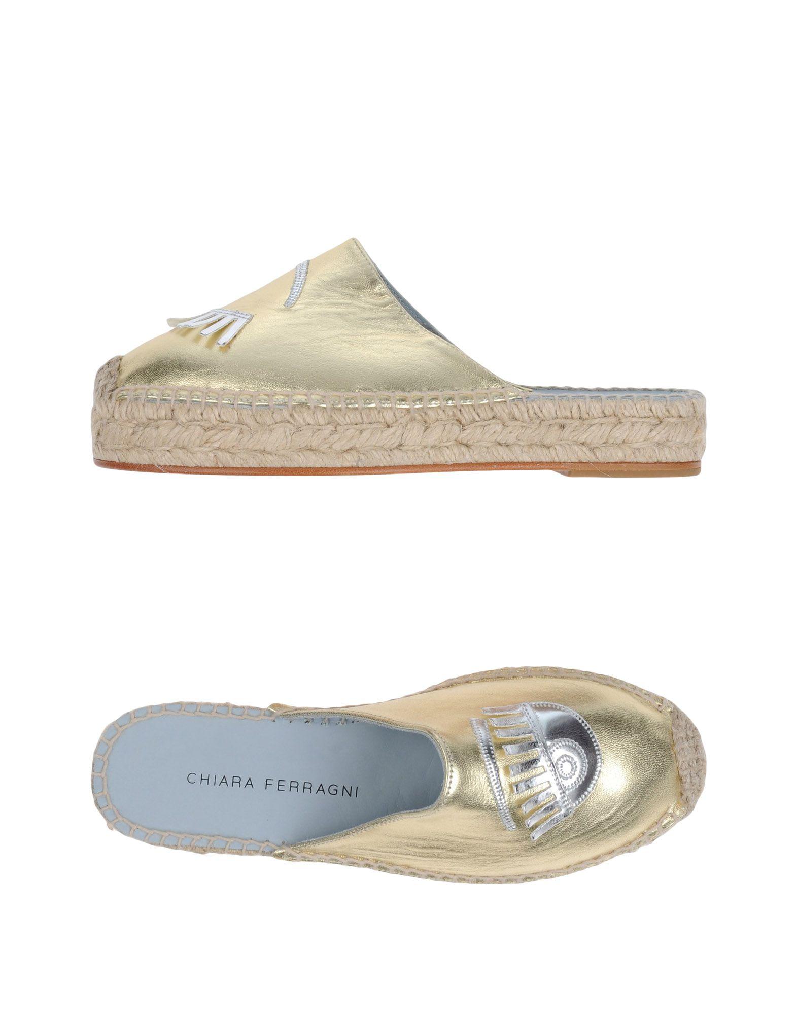 Chiara Ferragni Pantoletten Damen Schuhe  11257009XDGut aussehende strapazierfähige Schuhe Damen 5e8f0a