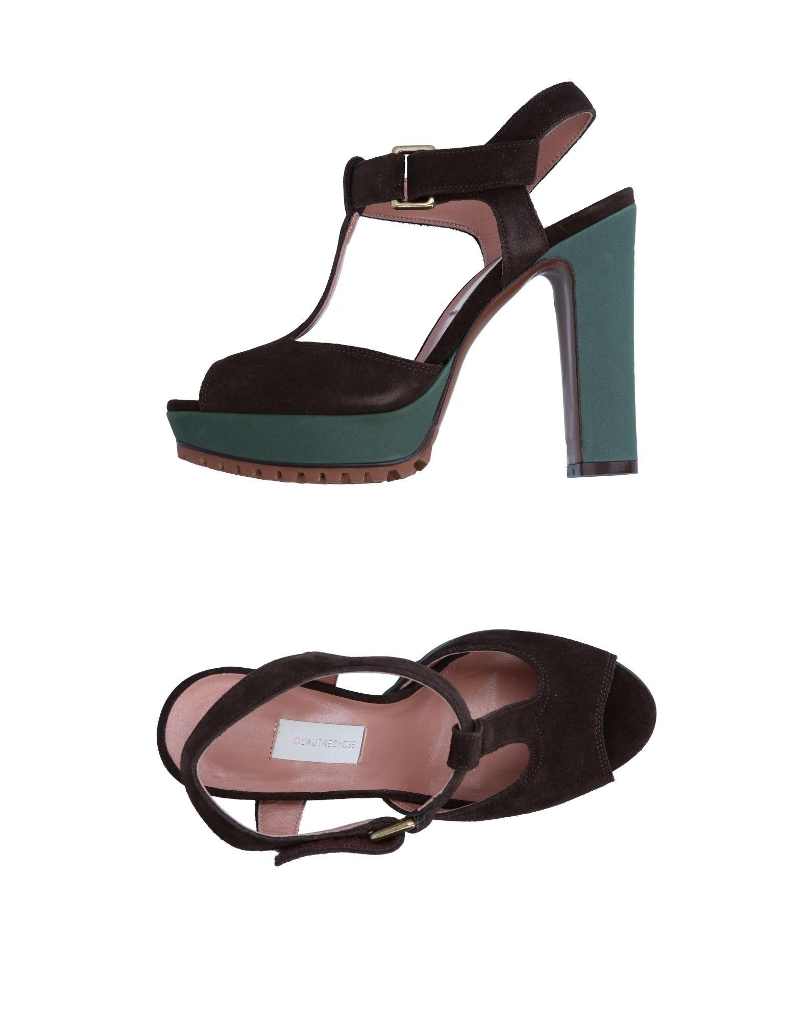 L'  Autre Chose Sandalen Damen  L' 11257058GR Neue Schuhe 2063bf