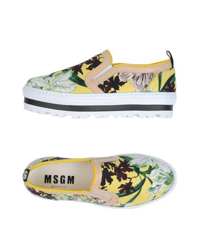 Descuento por Msgm tiempo limitado Zapatillas Msgm Mujer - Zapatillas Msgm por - 11257218MK Amarillo 4b6cb7