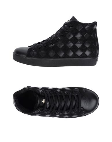 Zapatos especiales para hombres y mujeres Zapatillas Leather Crown Mujer - Zapatillas Leather Crown - 11258888QD Negro