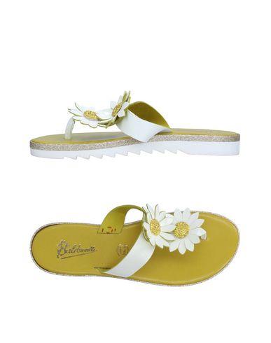 Zapatos casuales salvajes Sandalias De Dedo De Balduccelli Mujer - Sandalias De Dedo Dedo Balduccelli - 11260114RC Verde acido d25963