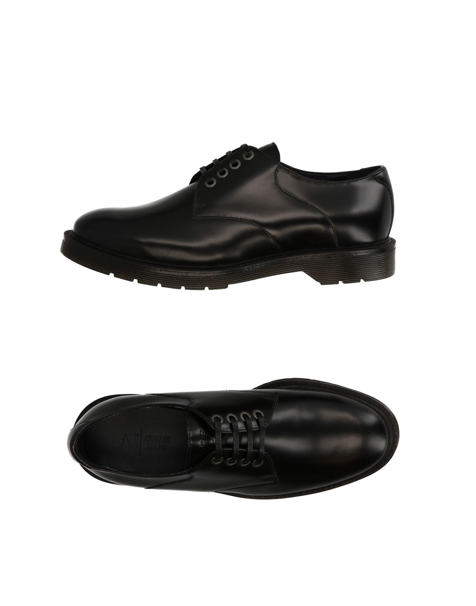Rabatt echte Schuhe Armani Jeans Schnürschuhe Herren  11261155QD