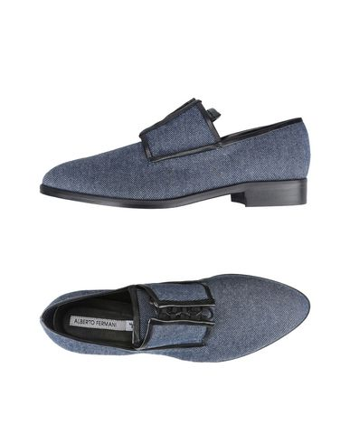 ALBERTO FERMANI Laced Shoes in Blue