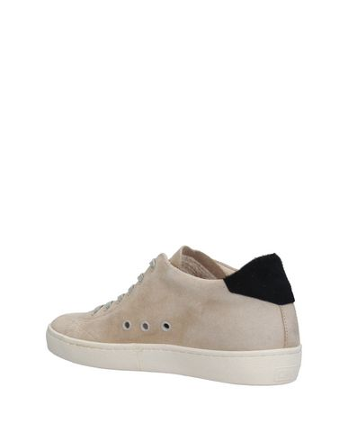 Crown Beige Crown Leather Crown Beige Sneakers Sneakers Sneakers Crown Leather Beige Sneakers Leather Leather ASHZPw