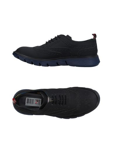 YAB Laced Shoes in Black