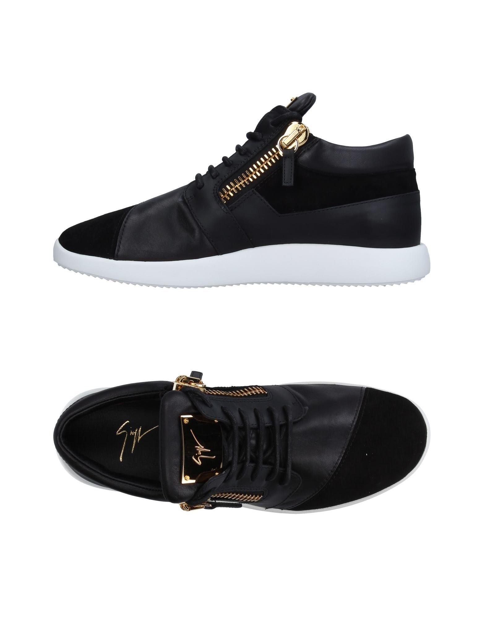 Sneakers Giuseppe Zanotti Homme - Sneakers Giuseppe Zanotti  Noir Réduction de prix saisonnier, remise