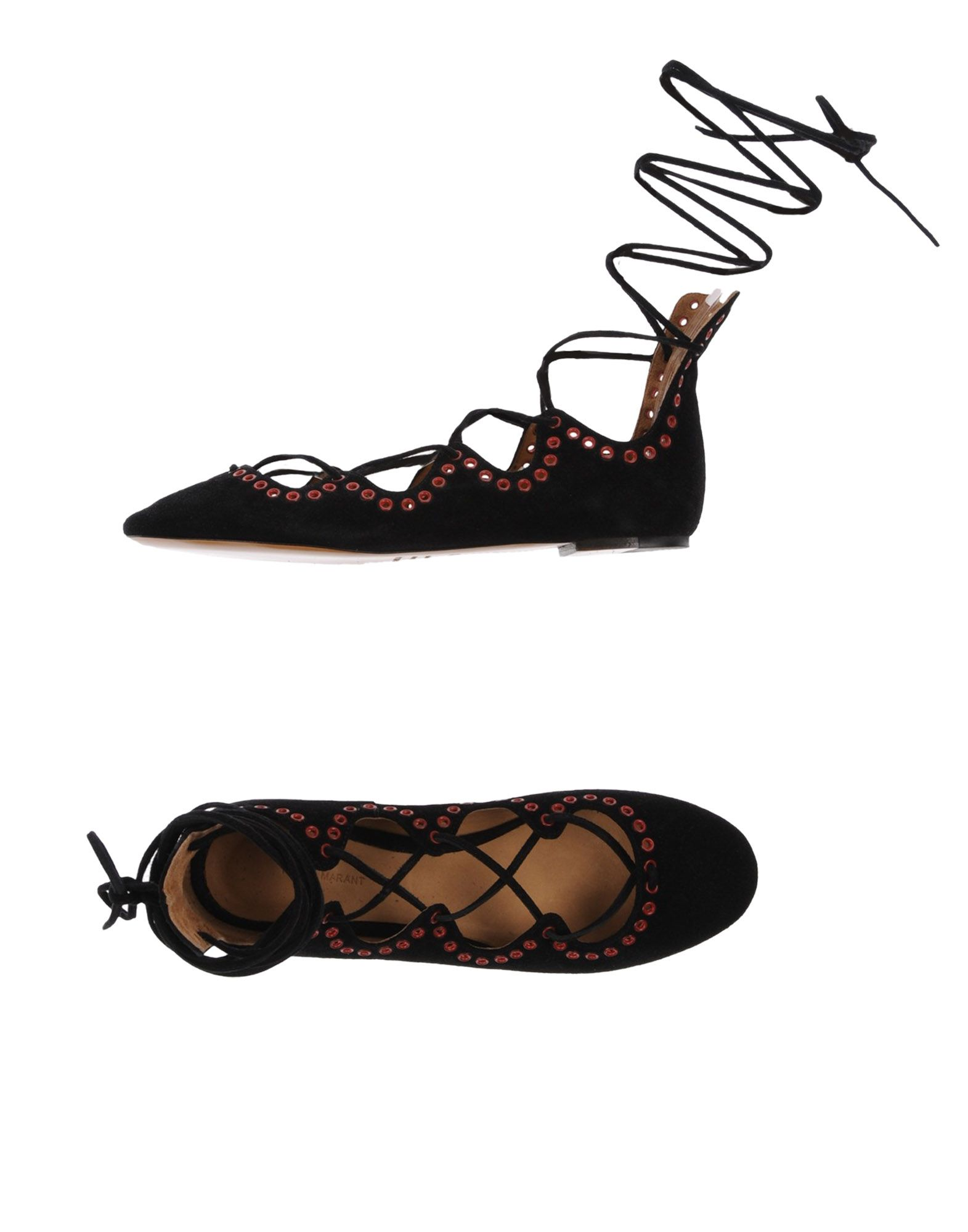 Rabatt Schuhe Isabel Marant  Ballerinas Damen  Marant 11262692QM 7d846e