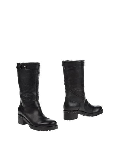 JANET SPORT Soft Leather Boots Dark brown PI29751