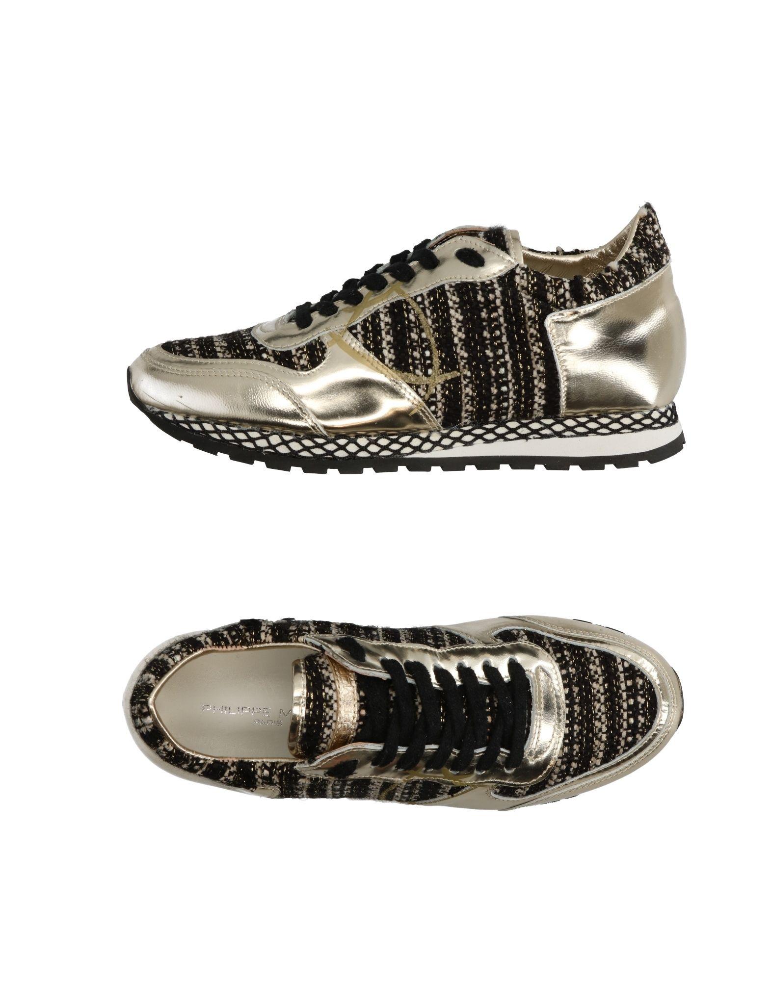Stilvolle billige Schuhe Philippe Model Sneakers Damen  11263076KF