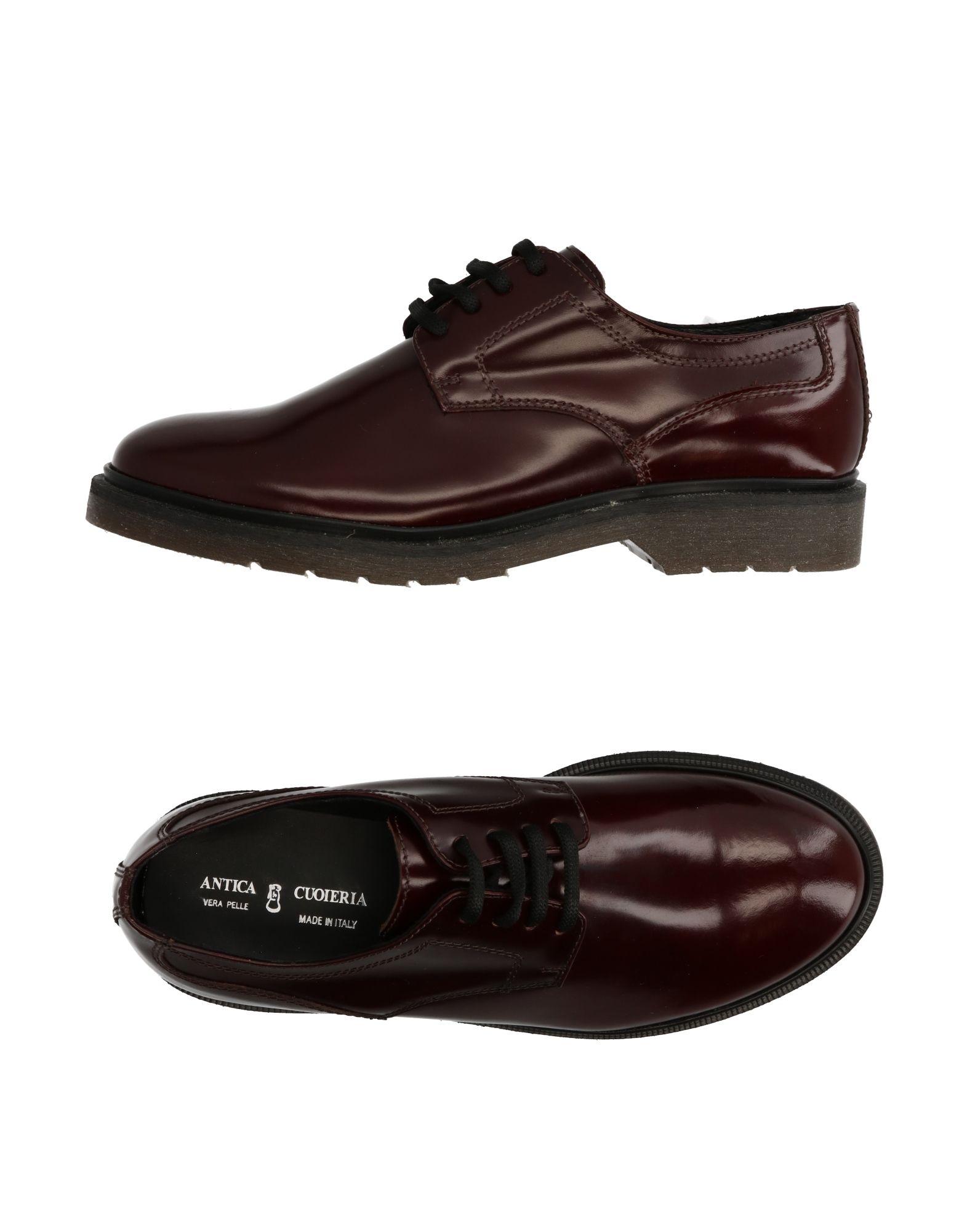 Chaussures À Lacets Antica Cuoieria Femme - Chaussures À Lacets Antica Cuoieria sur
