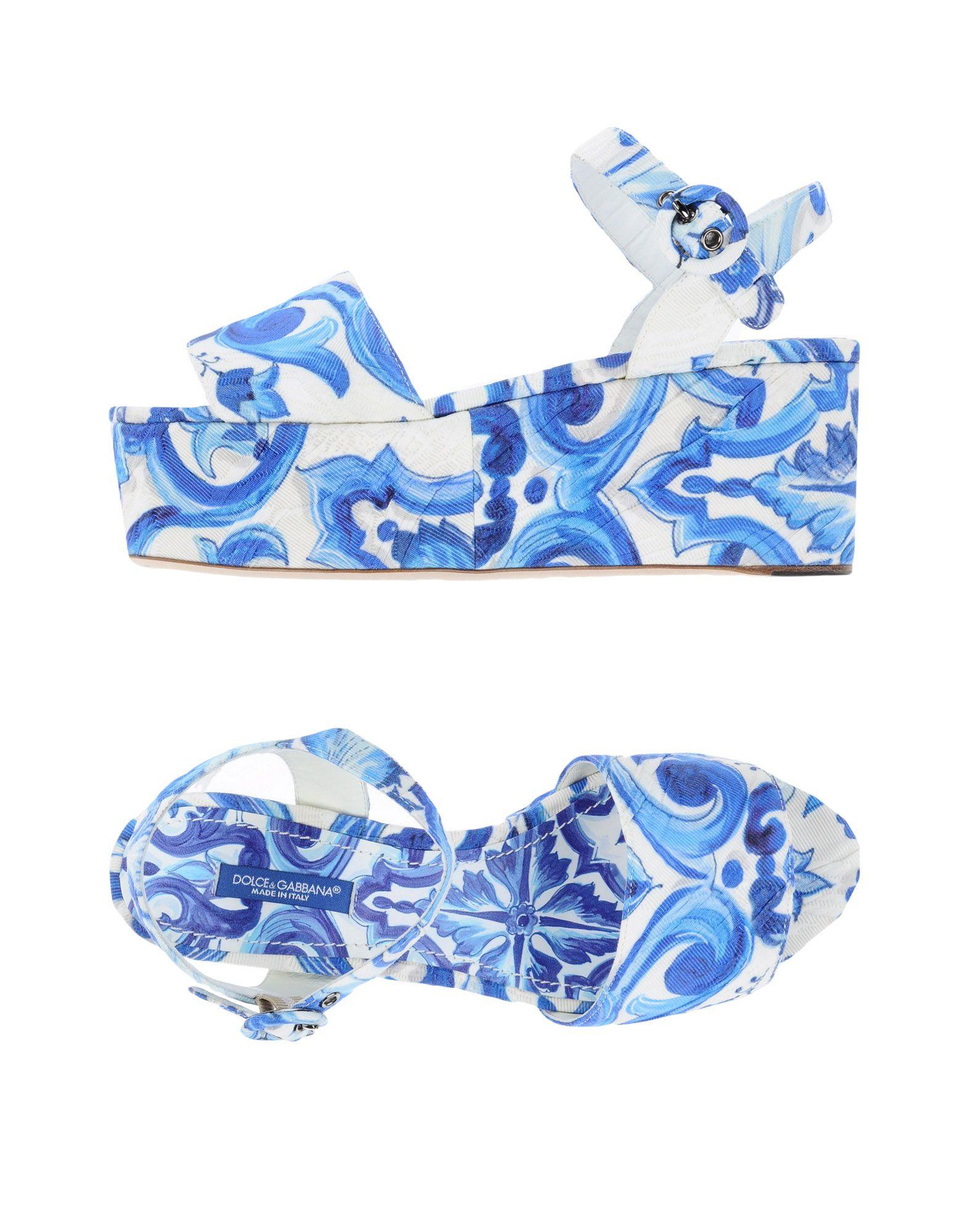 Dolce & Gabbana Sandalen Damen  11264084TRGünstige gut aussehende Schuhe