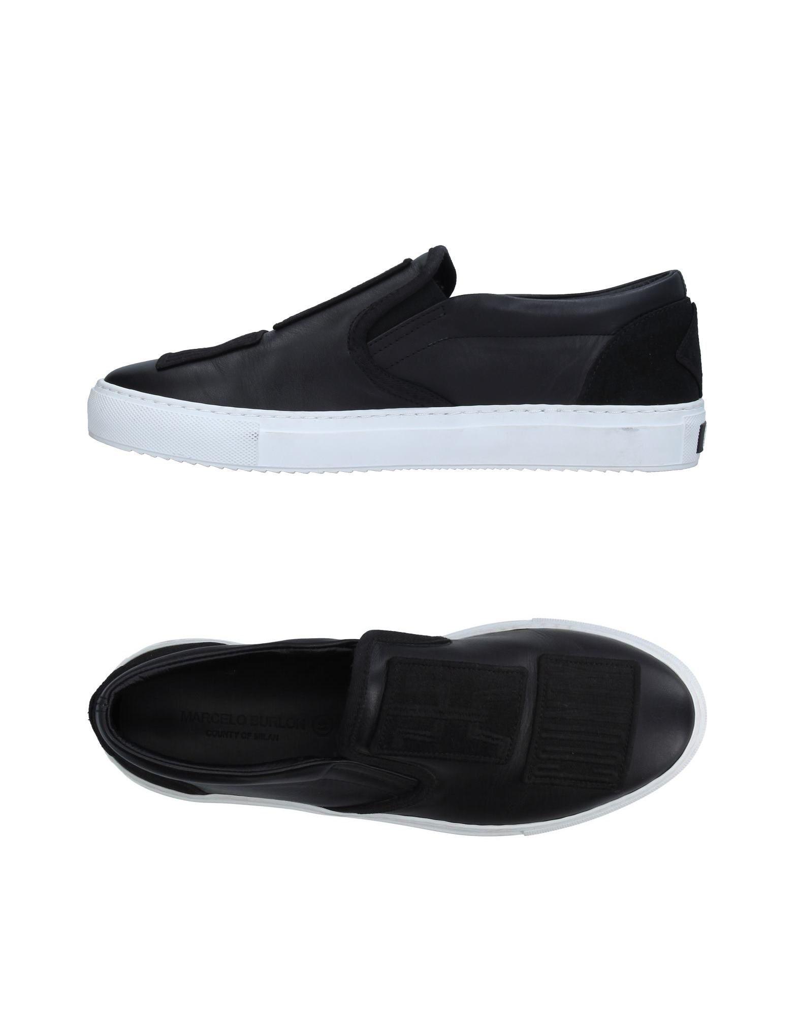 Sneakers Marcelo Burlon Homme - Sneakers Marcelo Burlon  Noir Chaussures casual sauvages