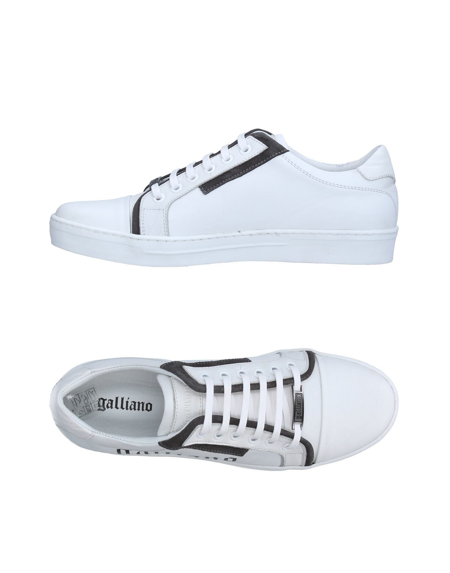 Sneakers Galliano Homme - Sneakers Galliano  Blanc Chaussures femme pas cher homme et femme